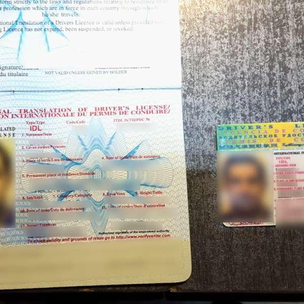 Cetăţean român depistat la volan cu permis de conducere nerecunoscut de statul român