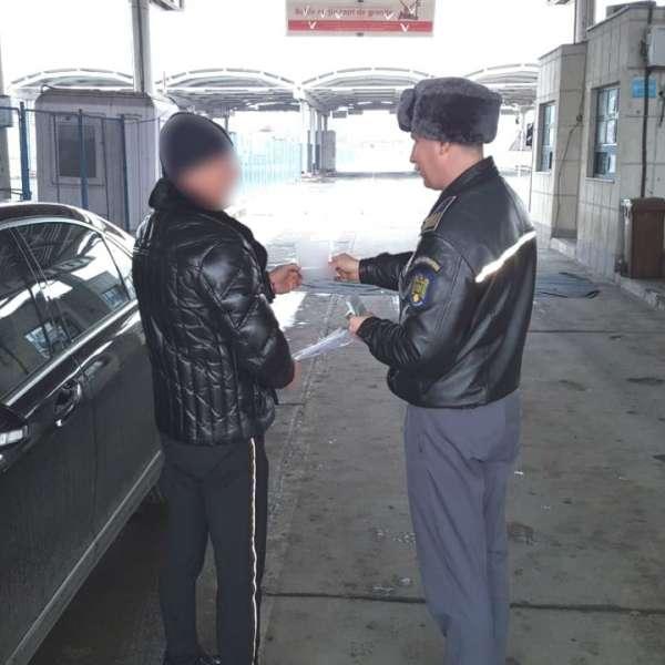 Certificat I.T.P. fals, descoperit de poliţiştii de frontierădin cadrul P.T.F. Galaţi rutier