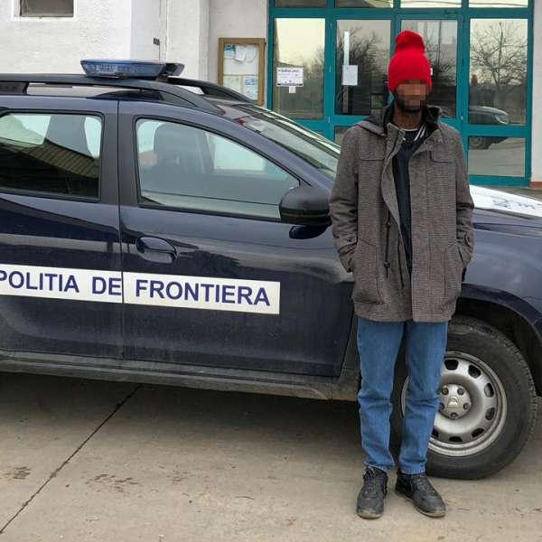 Un cetățean din Etiopia, depistat la frontiera cu Ungaria