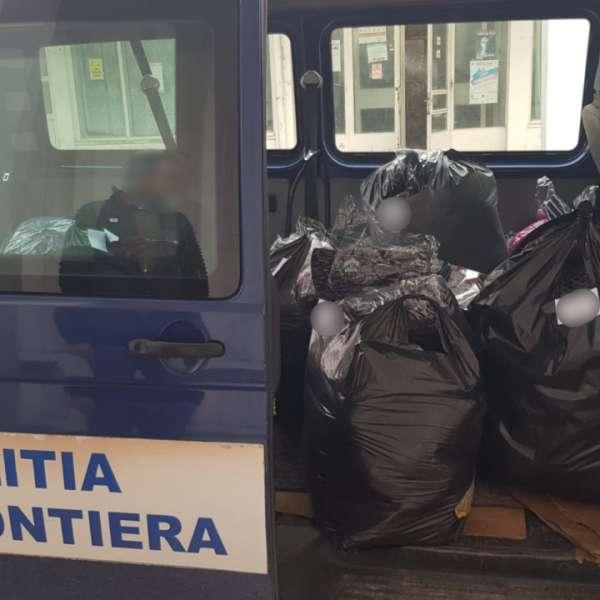 Bunuri în valoare de peste 13.000 lei, fără documente legale, confiscate de polițiștii de frontieră în P.T.F. Vama Veche