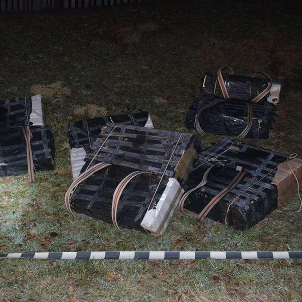 Țigări de contrabandă în valoare de 183.000 lei,  confiscate la frontiera de nord a României