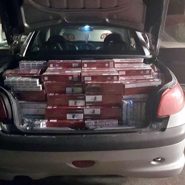 Țigări de contrabandă, confiscate de polițiștii de frontieră severineni