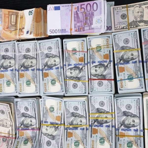 165.000 de dolari și 25.000 de euro descoperiţi de polițiștii de frontieră giurgiuveni