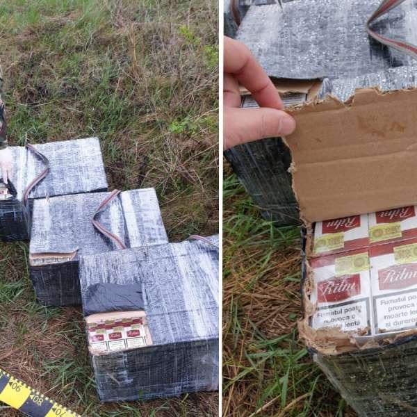 Contrabandă cu ţigări oprită la malul râului Prut