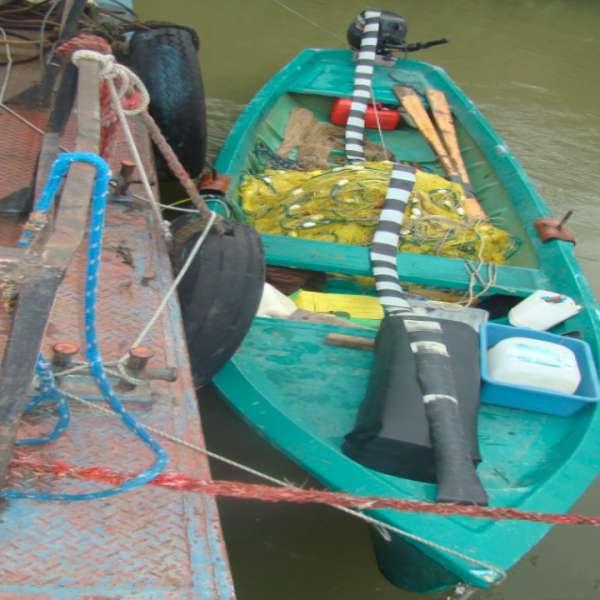 Braconajul piscicol combătut de polițiștii de frontieră din Olt