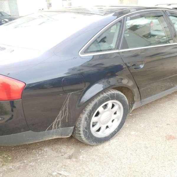 Audi A6 neasigurat, descoperit în trafic