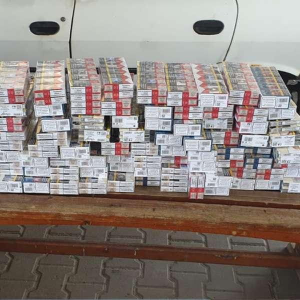 Peste 900 de pachete cu ţigări, descoperite la P.T.F. Giurgiu