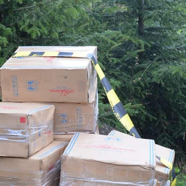 Aproximativ 24.000 de pachete cu ţigări confiscate la frontiera de nord