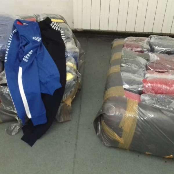 Textile, parfumuri şi încălțăminte susceptibile a fi contrafăcute, descoperite de polițiștii de frontieră giurgiuveni