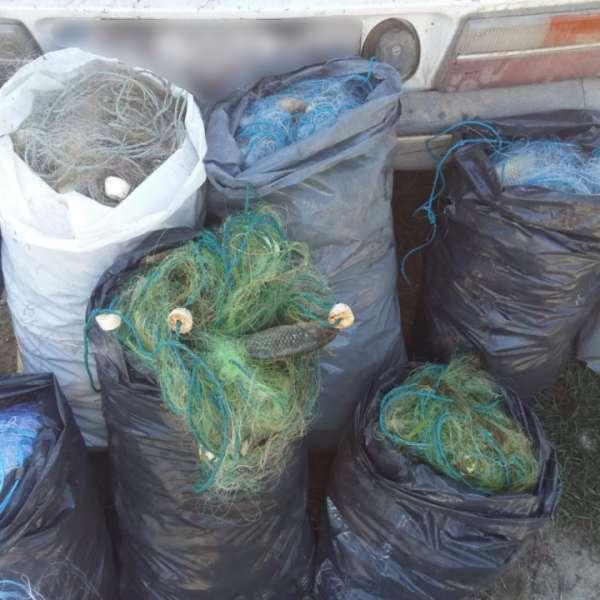 Peste 80 kg peşte şi plase monofilament, confiscate de poliţiştii de frontieră
