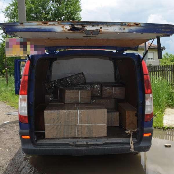 Peste 76.000 de pachete cu țigări confiscate în această săptămână la frontiera de nord a ţării