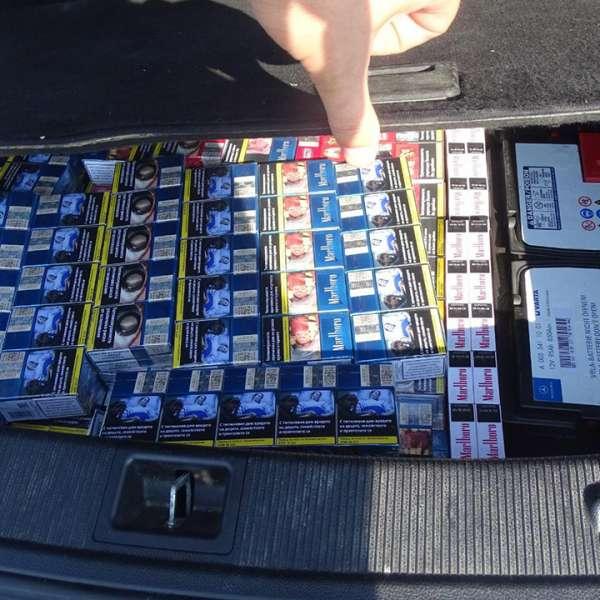 Peste 1.900 de pachete cu ţigări, descoperite în P.T.F. Calafat
