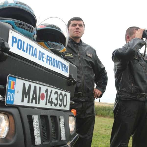 Trei cetățeni albanezi și un turc, depistați în timp ce încercau să intre ilegal pe teritoriul României