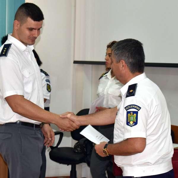 Ziua Poliției de Frontieră Române sărbătorită la Inspectoratul Teritorial al Poliției de Frontieră Oradea