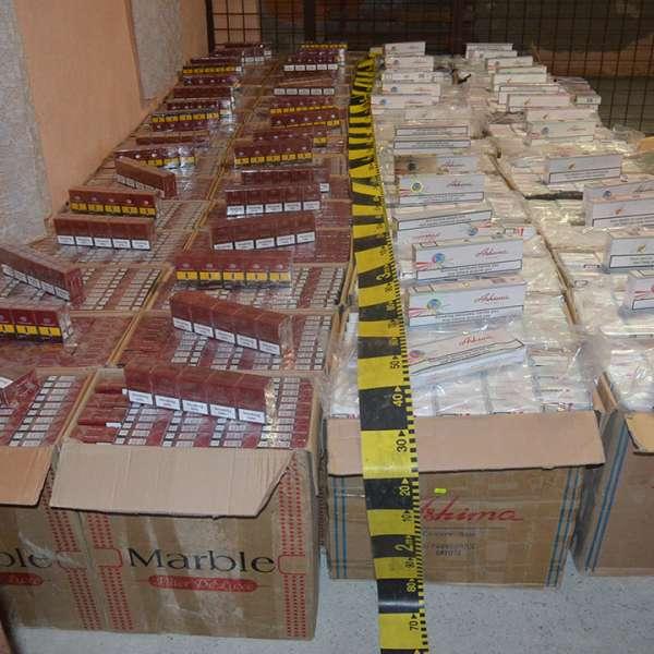 Aproximativ 55.000 pachete țigări confiscate la frontiera de nord