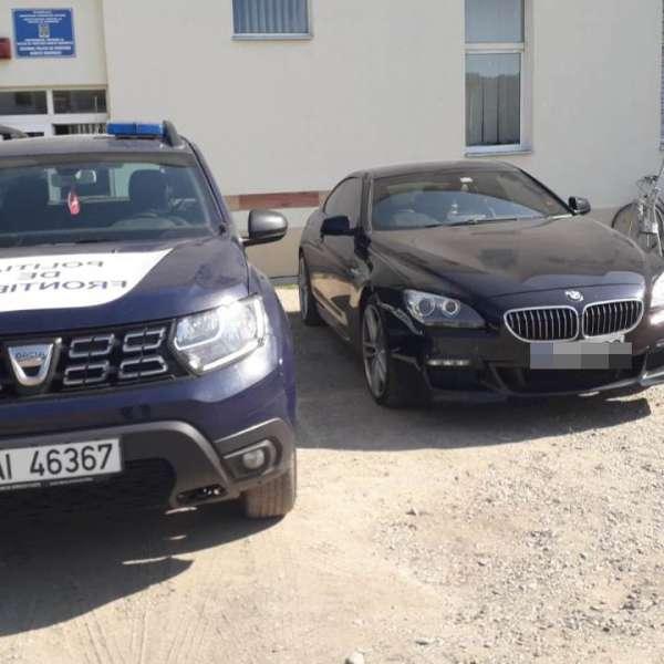 BMW  în valoare de 40.000 de euro, căutat de autorităţile din Marea Britanie, descoperit în Borșa