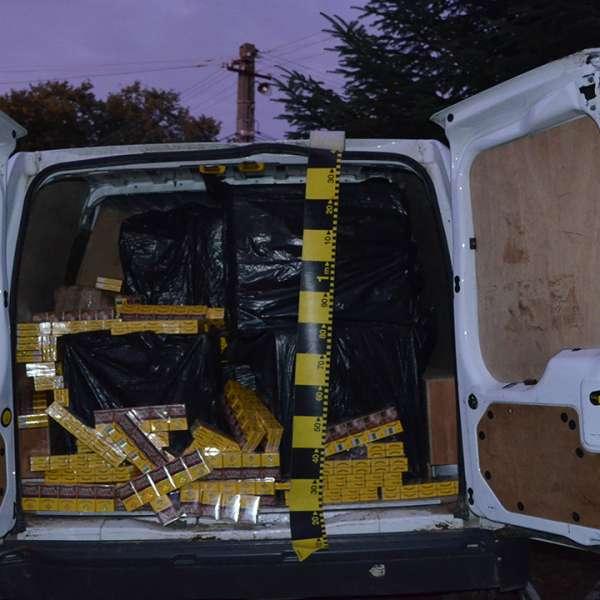 Ţigări în valoare de peste 136.000 lei confiscate la frontiera de nord