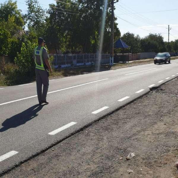 Cetăţean român depistat la volan, fără drept de a conduce