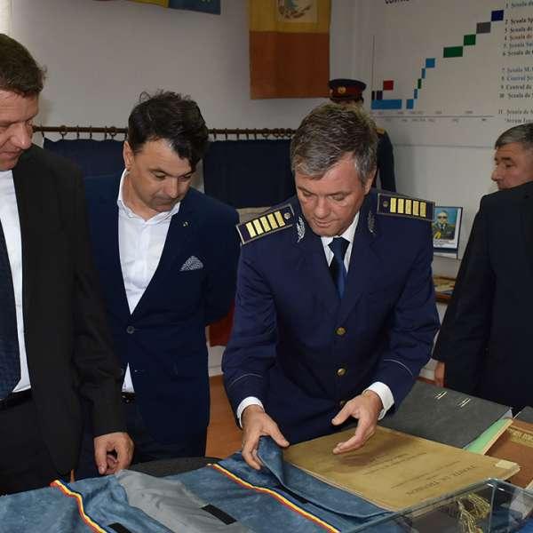 Întâlnire oficială între șefii Poliției de Frontieră din România și R. Moldova