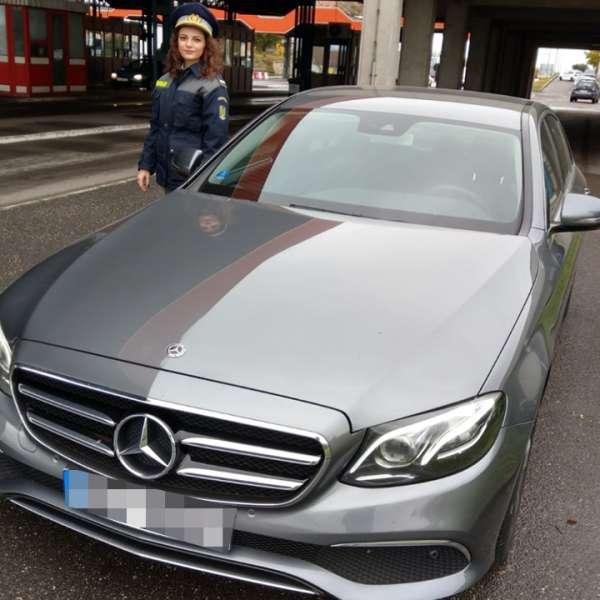 Autoturism în valoare de 55.000 de euro, căutat de autorităţile din Cehia, depistat la P.T.F. Borș