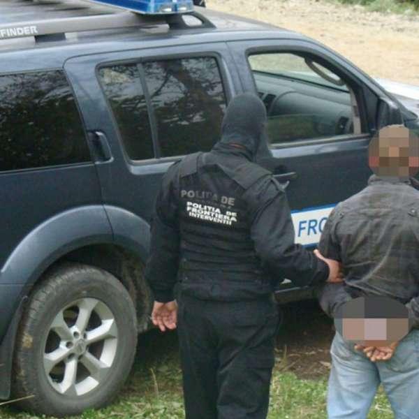 Căutat de autoritățile române, oprit în PTF Petea