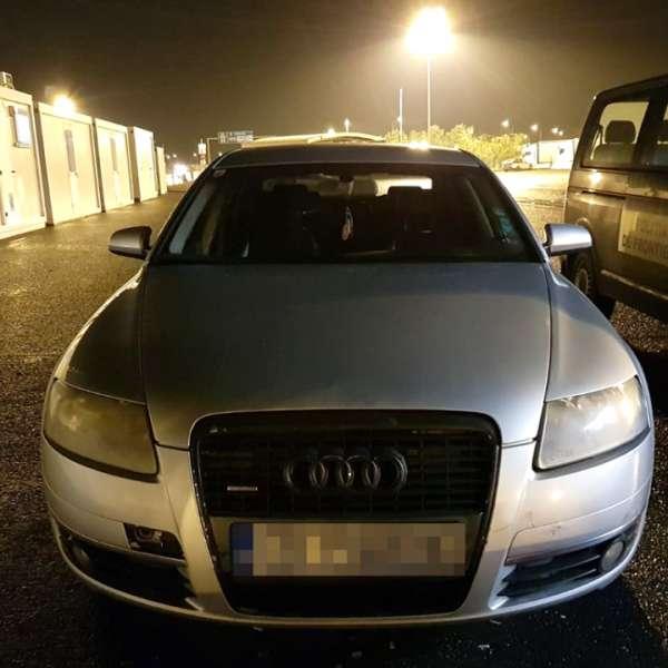 Autoturism căutat de autorităţile din Germania, descoperit de poliţiştii de frontieră din P.T.F. Nădlac II