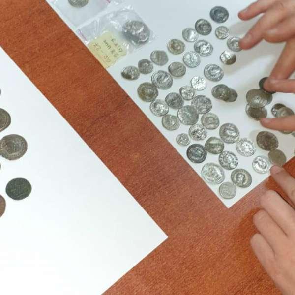 Monede și obiecte istorice susceptibile a face parte din Patrimoniul Cultural Național, confiscate în P.T.F. Porţile de Fier I
