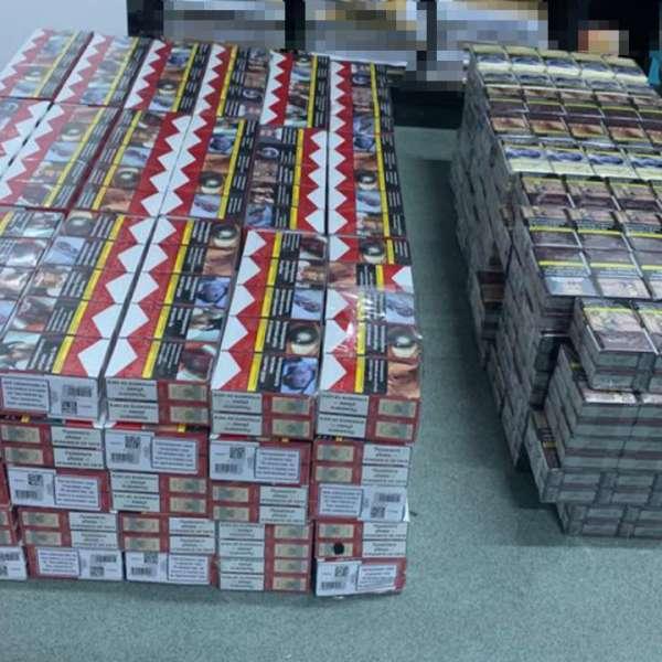 Peste 4,4 milioane pachete cu ţigări de contrabandă, confiscate de poliţiştii de frontieră, în 11 luni din 2019