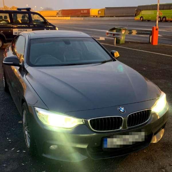 Autoturism căutat de autorităţile din Marea Britanie, depistat de poliţiştii de frontieră de la P.T.F. Nădlac II