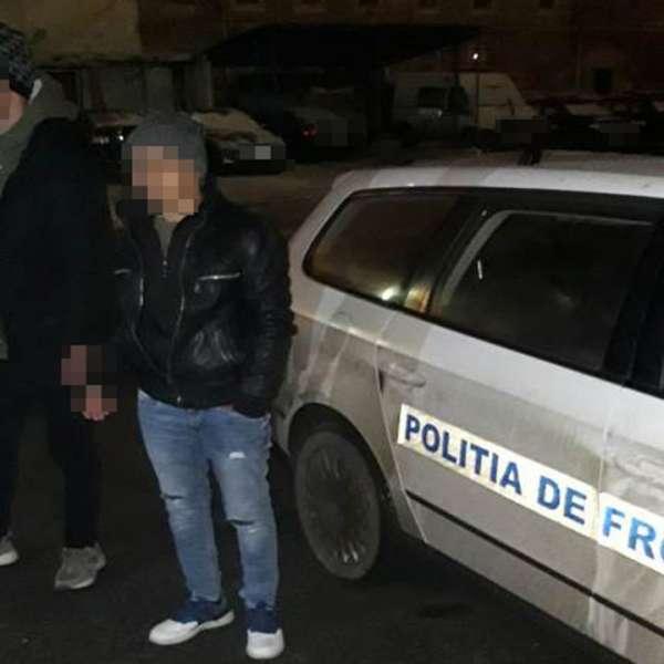 Doi palestinieni opriți din drumul ilegal spre vestul Europei