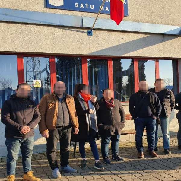 Șapte cetățeni turci opriți din drumul ilegal spre vestul Europei