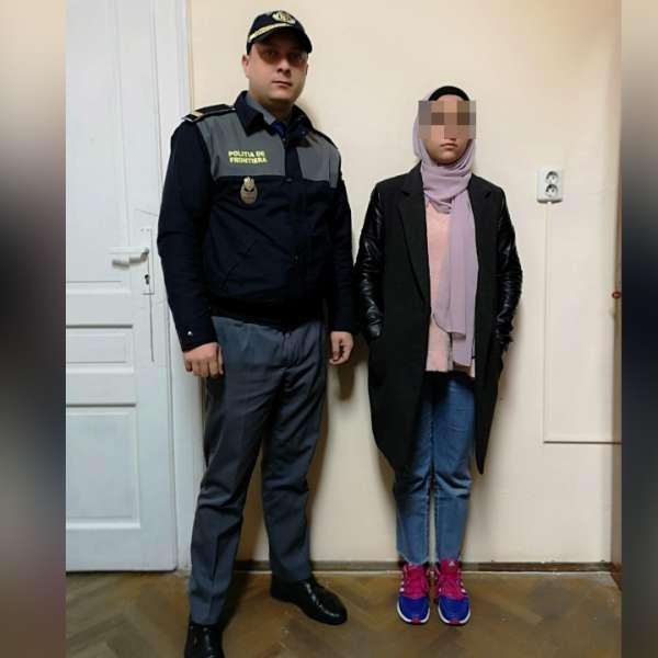 Tânără din Palestina cu documentul de călătorie al altei persoane, depistată la Punctul de Trecere a Frontierei Curtici