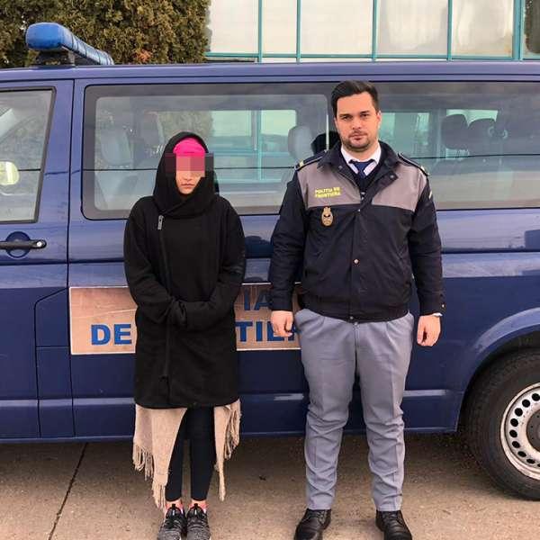 Tânără din România cu documentul surorii, depistată la frontieră