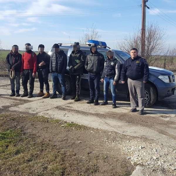 Şapte cetățeni din Egipt, Siria și Maroc, depistaţi la frontiera de vest