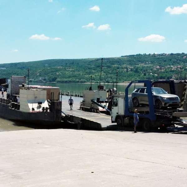 Update: Traficul cu bacul a fost reluat, începând cu ora 18:00,prin Punctele de Trecere a Frontierei Turnu Măgurele și Bechet