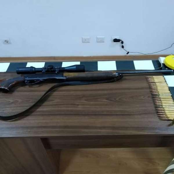 Armă de vânătoare deținută ilegal de către un maramureșean