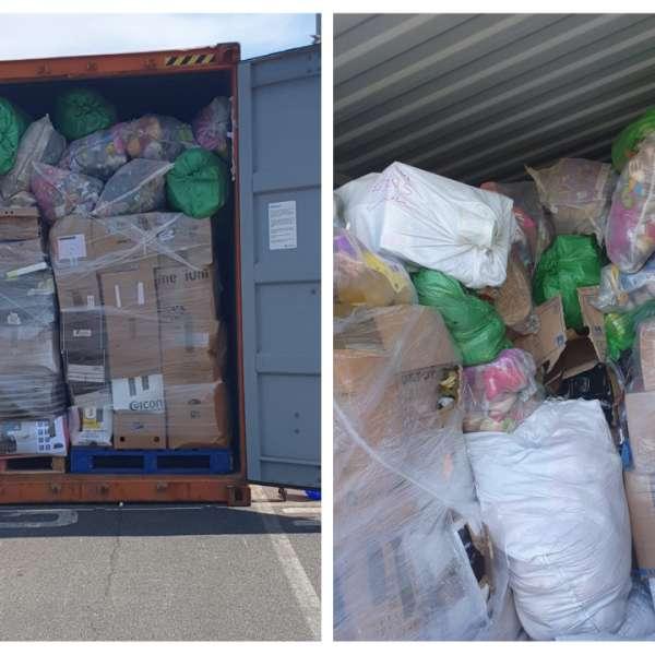 Încă un container cu deșeuri depistat în Portul Constanţa Sud Agigea