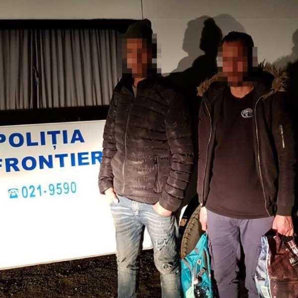 Doi algerieni depistați la frontiera cu Ungaria