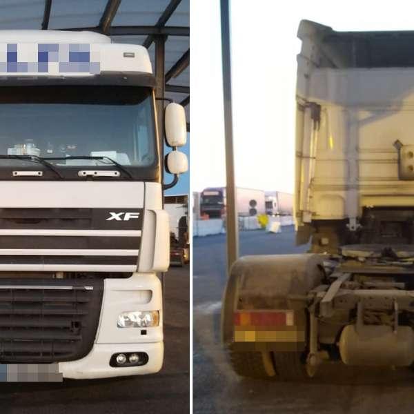 Cap tractor căutat de autorităţile din Bulgaria, depistat de poliţiştii de frontieră de la P.T.F. Nădlac II