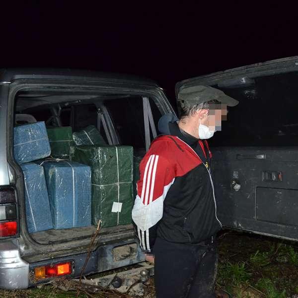 Un cetățean ucrainean cercetat pentru contrabandă și peste 27.000 pachete țigări confiscate la frontiera de nord