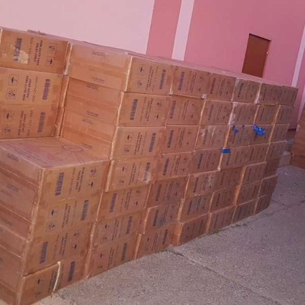 TIR încărcat cu țigări de contrabandă, depistat de polițiștii de frontieră