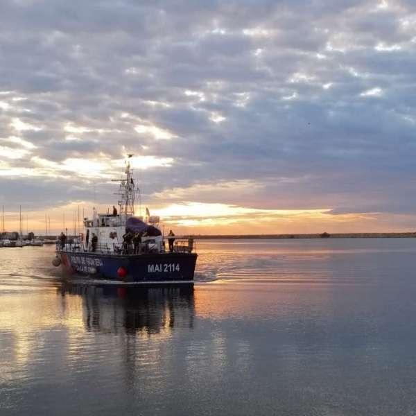 O nouă misiune internaţională sub egida Frontex încheiată cu succes