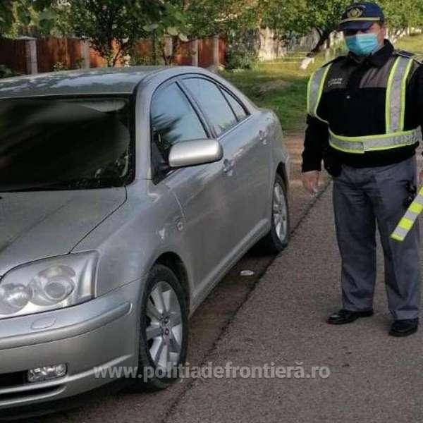 Cetățean german depistat la volan, deşi avea dreptul de a conduce suspendat