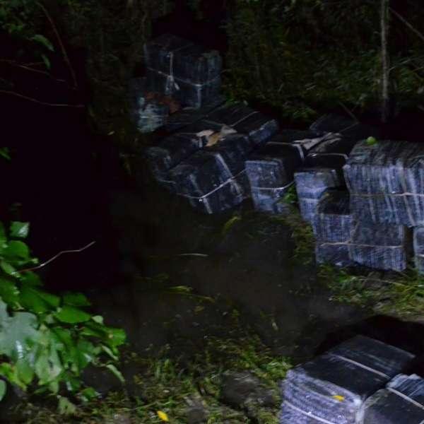 Aproximativ 17.500 de pachete cu ţigări de contrabandă, confiscate la frontiera de nord