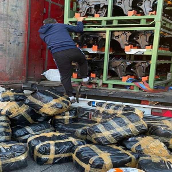 Bunuri în valoare de peste 270.000 de lei, susceptibile a fi contrafăcute,confiscate de polițiștii de frontieră din P.T.F. Giurgiu