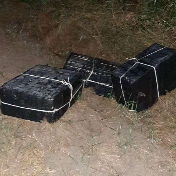 Peste 2.300 pachete cu țigări confiscate la frontiera cu Ucraina