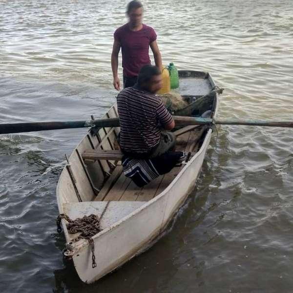 Lucrări penale pentru braconaj piscicol, întocmite de polițiștii de frontieră