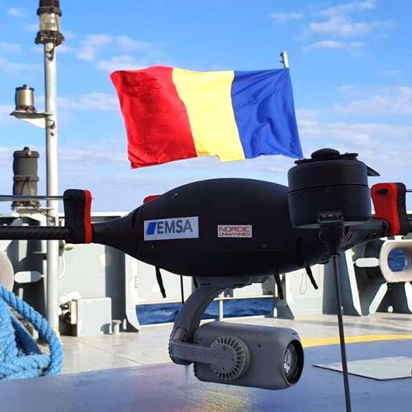 Autoritățile de frontieră române folosesc sistemul RPAS furnizat de EMSA pentru supravegherea zonei de coastă de la Marea Neagră