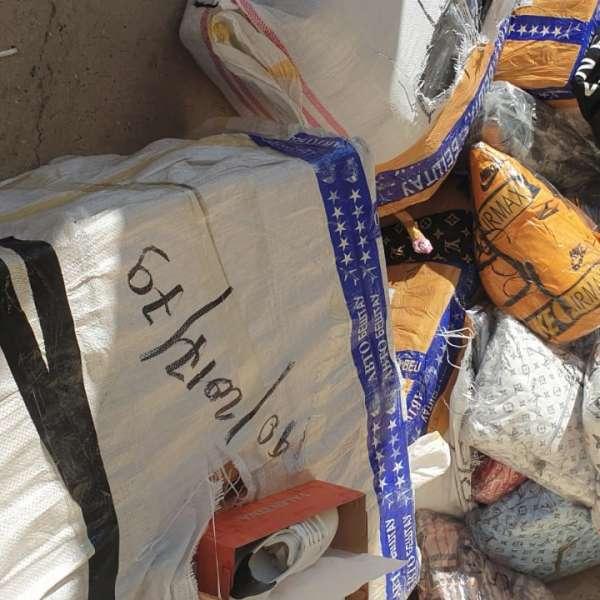 Camion încărcat cu bunuri susceptibile a fi contrafăcute, a căror valoare depăşeşte 190.000 lei, depistat la P.T.F. Giurgiu