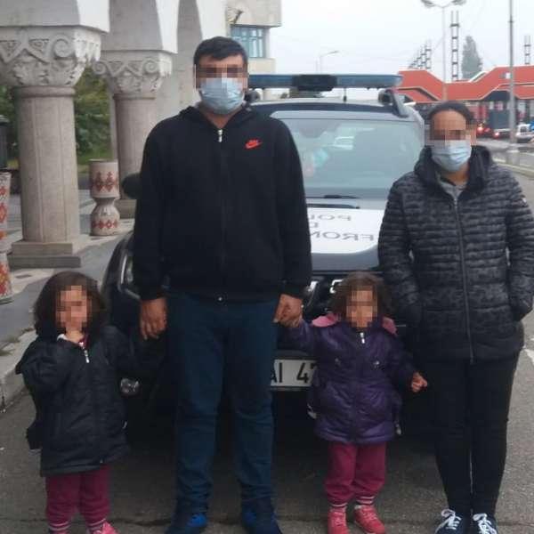 Familie din Siria, oprită la graniţa cu Ungaria